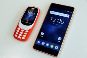 nokia 3310 and nokia 6 - photo by REUTERS
